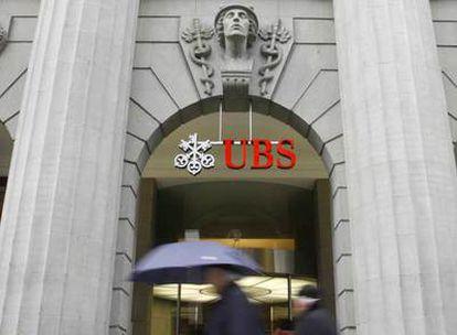 Oficina de UBS en Zúrich (Suiza).