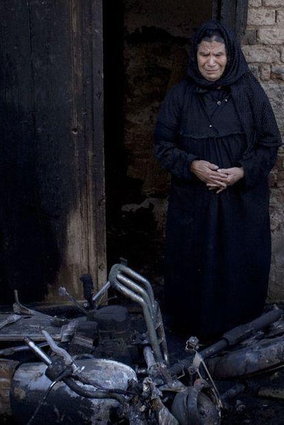 El pasado enero fue atacada una población católica en Bahjora (Egipto).