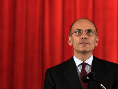 El exprimer ministro italiano, Enrico Letta.