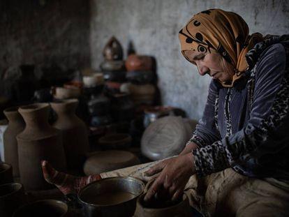 Todo el trabajo que implica la cerámica de Sejnane es artesano. Una de las razones por las que ha sido reconocido como Patrimonio Inmaterial de la Humanidad.
