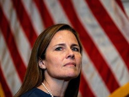 La candidata al Supremo de Estados Unidos, la juez Amy Coney Barrett.