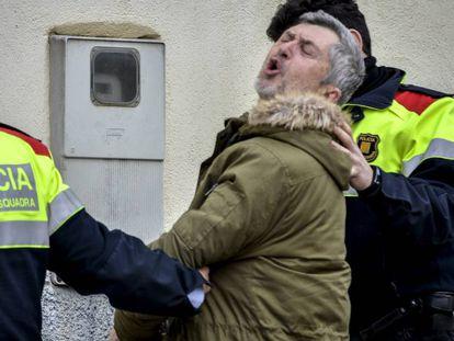 Jordi Magentí, el detenido por el crimen de Susqueda.