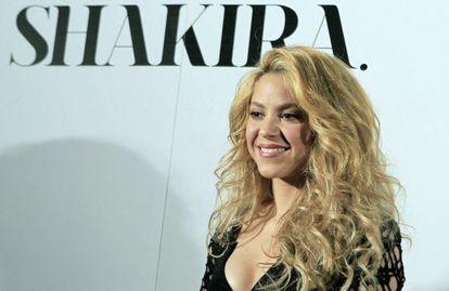 La cantante colombiana, Shakira.