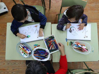 Colegio rural agrupado Nuez de Alises en el municipio de San Vitero.