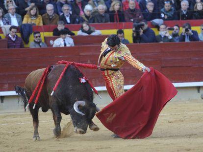 Morante de la Puebla, al natural en uno de sus toros.