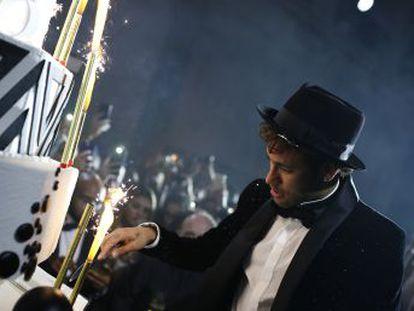 El futbolista del PSG reúne a 150 amigos para celebrar su 26 aniversario y acalla rumores con la asistencia en bloque de sus actuales compañeros de equipo