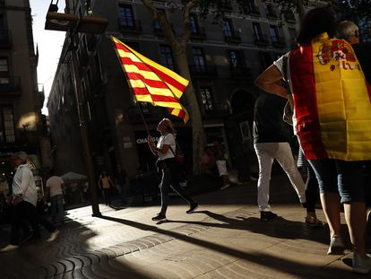 Manifestación de SCC en Barcelona en 2017.