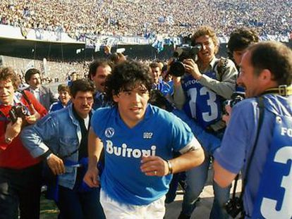 El documental de Asif Kapadia cuenta con imágenes inéditas y la voz del futbolista argentino