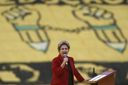 La presidenta Dilma Rousseff, el miércoles pasado