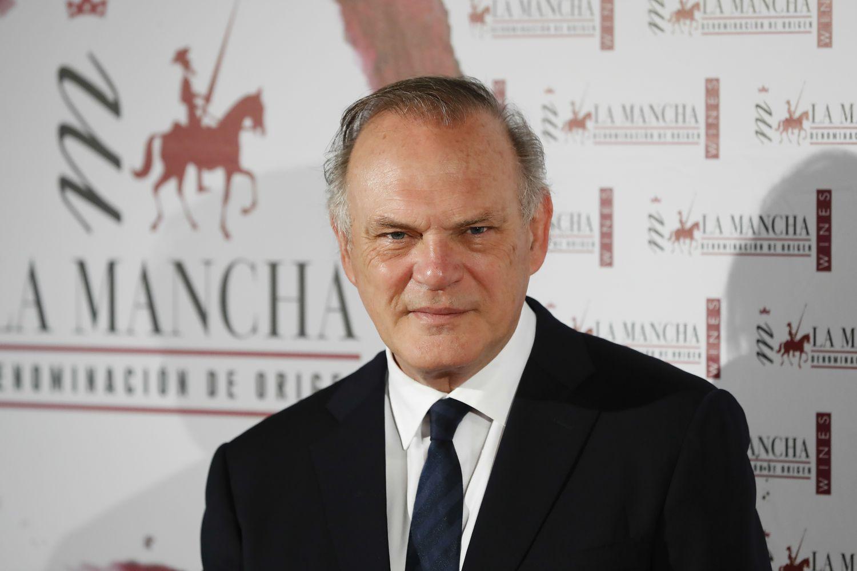 Pedor Piqueras, en una entrega de premios en Madrid en diciembre de 2018