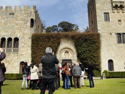 El pazo de Meirás, el primer día que abrió al público.