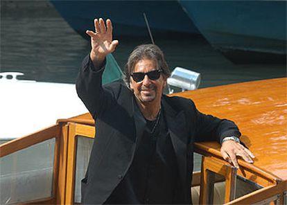 Al Pacino presentó en Venecia su película <i>El mercader de Venecia.</i>