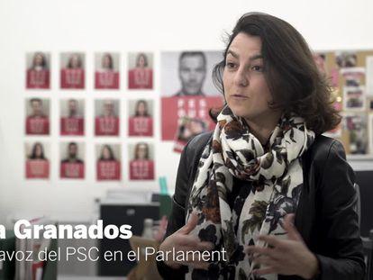 Entrevista a Eva Granados, portavoz del PSC.
