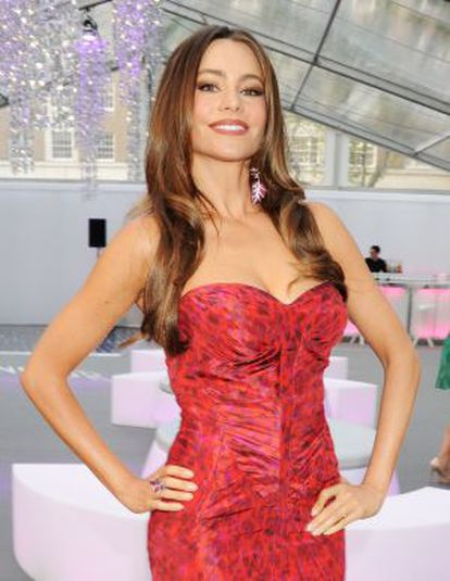 La actriz, a su llegada a los Premios Glamour a la mujer del año, en Londres el 29 de mayo.