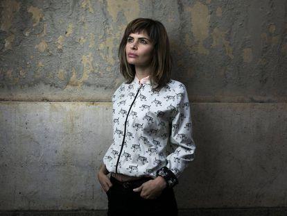 Alicia Kopf, a principios de octubre en Madrid.