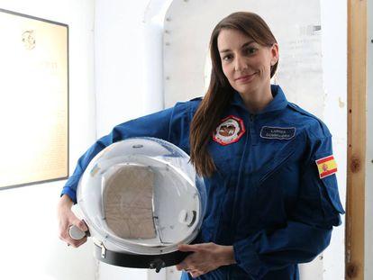 Natalia Larrea, ingeniera española, líder de una misión simulada a Marte.
