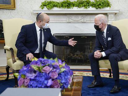 Joe Biden y Naftali Bennett en la Casa Blanca el pasado 27 de agosto.