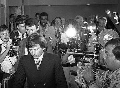 Polanski, en un fotograma del documental que narra sus problemas con la justicia.