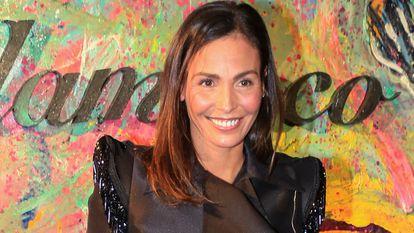 La modelo y actriz Inés Sastre, en Sevilla en enero de 2019.