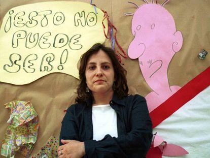 Resurrección Galera Navarro en una foto de archivo de 2001.