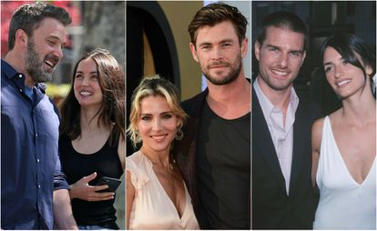 Ben Affleck, Ana de Armas, Elsa Pataky, Chris Hemsworth, Tom Cruise y Penélope Cruz.