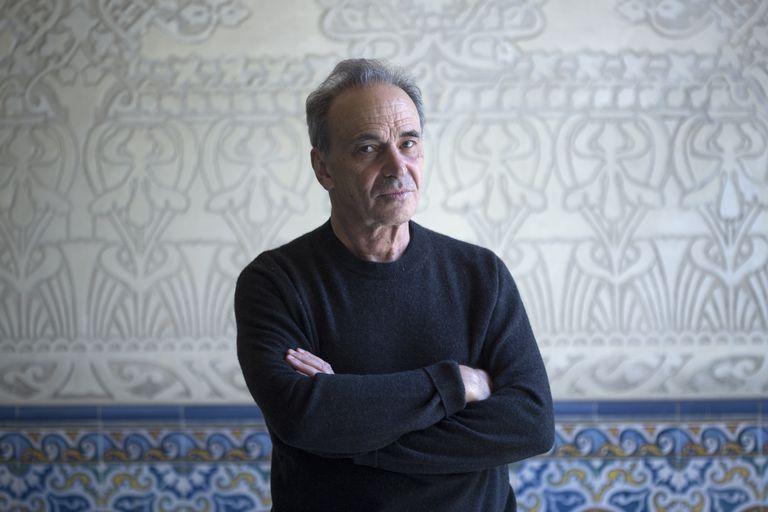 Michel Feher, Filósofo, en Barcelona el pasado martes.