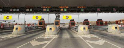 Autopista de peaje en Toledo (A-41).