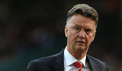 Van Gaal, en su etapa en el Manchester United.