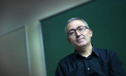 El periodista Francesc Martínez, autor de la tesi sobre la revista 'Saó'.