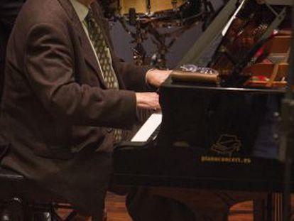 El pianista Joan Guinjoan