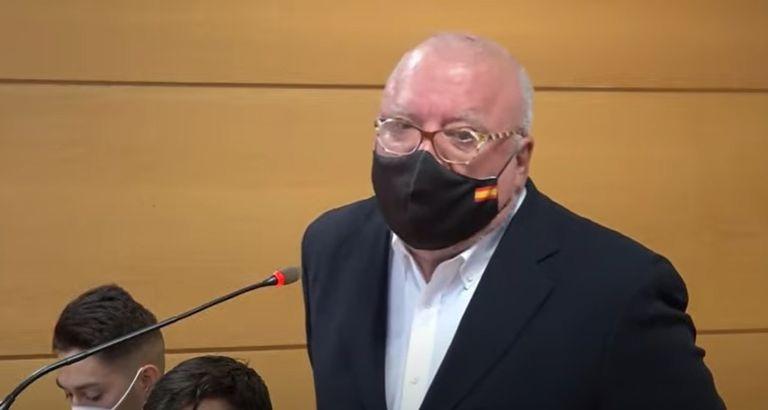 El comisario jubilado José Manuel Villarejo, durante el juicio celebrado contra él el pasado 15 de enero.