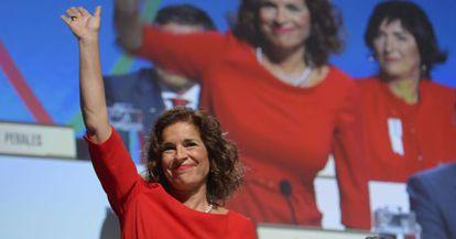 Ana Botella, ante la asamblea del COI.