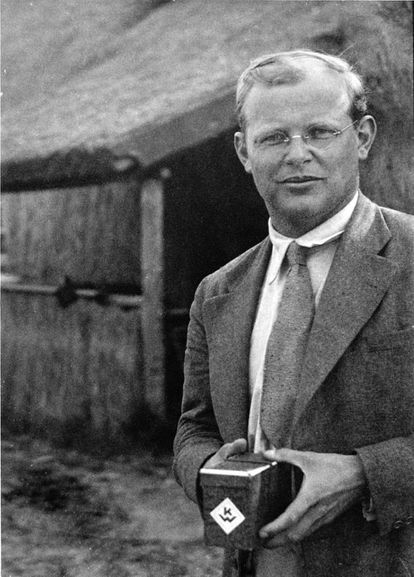 Dietrich Bonhoeffer, retratado en 1935.