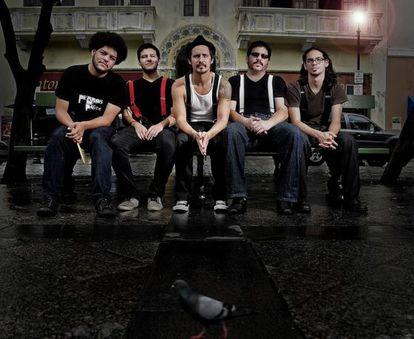 La banda puertorriqueña Perros de Pavlov.