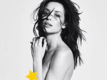 Desnudo de Dafne Fernández en Instagram.