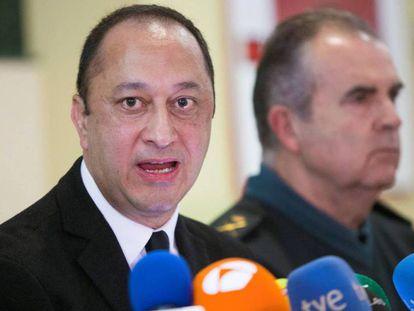 El delegado del Gobierno en Andalucía, Alfonso Rodríguez Gómez de Celis, este sábado.
