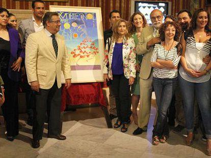 Presentación de la Bienal de Flamenco de Sevilla.