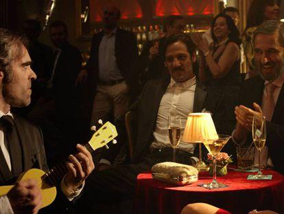 Luis Tosar en un momento de la película.