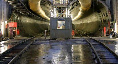 Proyecto Crossrail en Londres en el que participa Ferrovial.