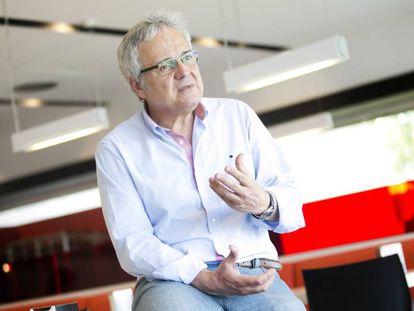 El periodista Jaume Barberà.