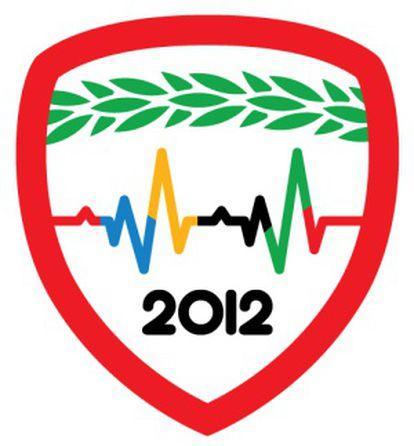 La insignia de FourSquare para los Juegos Olímpicos de Londres