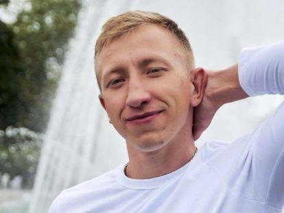 El activista Vitali Shishov, en una imagen sin fecha cedida por la organización en la que trabajaba en Ucrania.