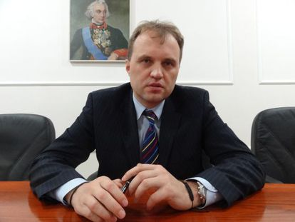 Yevgueni Shevchuk, el nuevo presidente del Trandniéster.