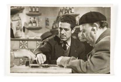 Berlanga y José Isbert, durante el rodaje de 'Bienvenido, Mister Marshall'. La relación entre ambos fue más que tensa.