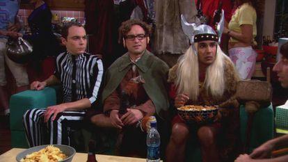 Sheldon Cooper, disfrazado de efecto Doppler en un episodio de 'Big Bang'.