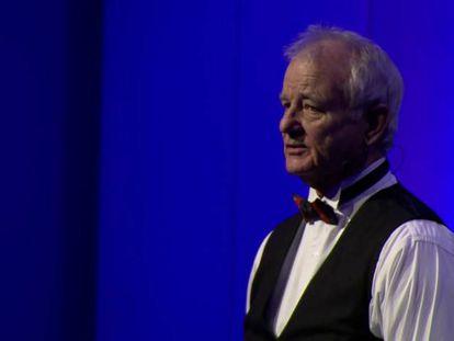 Bill Murray canta con el trío de Jan Vogler.