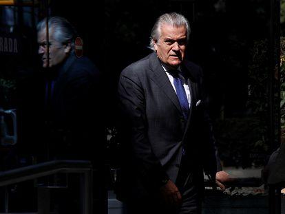 El extesorero del PP Luis Bárcenas, el pasado 16 de julio.