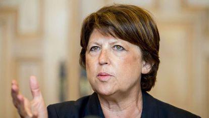 Martine Aubry, exlíder del Partido Socialista y alcaldesa de Lille.