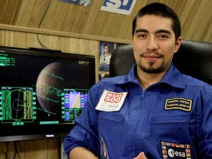Diego Urbina, ingeniero aeroespacial y miembro de Mars 500.
