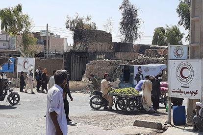 Un hombre camina por las calles de Zaranj, la primera capital de provincia tomada por los talibanes, este sábado 7 de agosto.